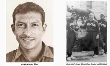 Anwar Ahmad Khan... Pakistan hockey's finest ever centre half