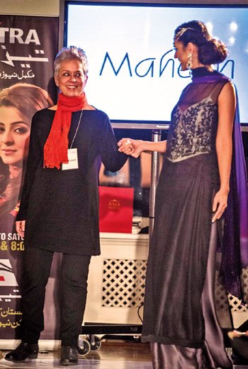 Maheen's tribute to the Maharanis of Hind gave a 21st century twist to tradition.