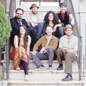 An East-meets-West story: Zeb is now fronting a seven-member band called Sandaraa, joining six musicians from Brooklyn, New York, as they put a European spin on South Asian strains from Balochistan, Afghanistan and beyond