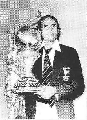 Islahuddin with 1978 hockey World Cup