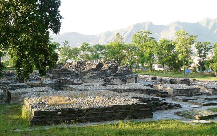 Remains of Butkara Stupas