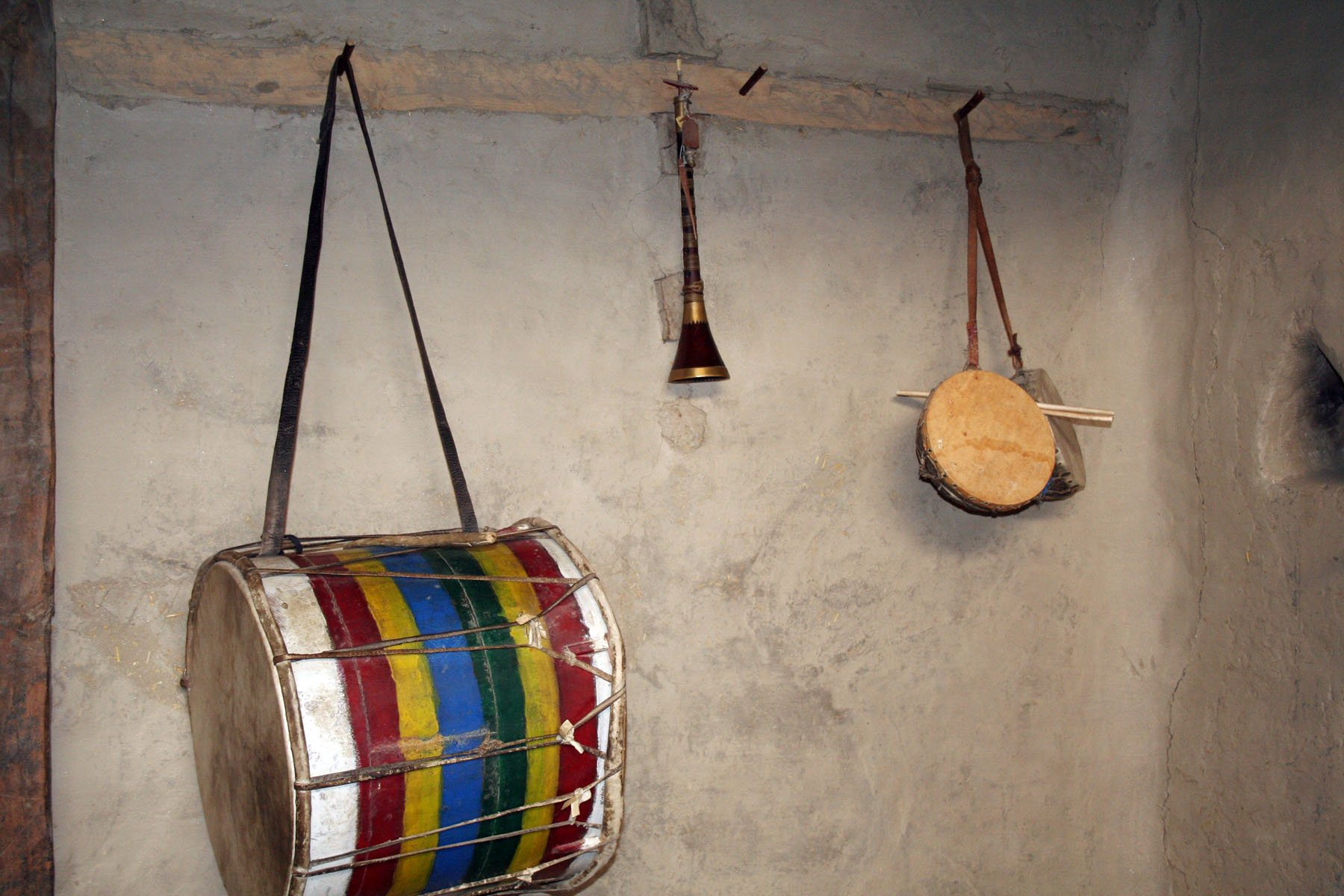 Hunza Musical Instruments. -- Photo by Ghazi Karim