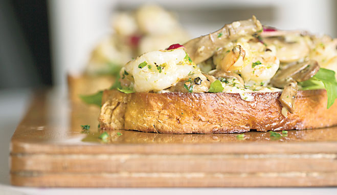 With its perfect blend of flavours, Sweet Affairs' generous serving of Prawn Tartine is a must-try for lovers of seafood.