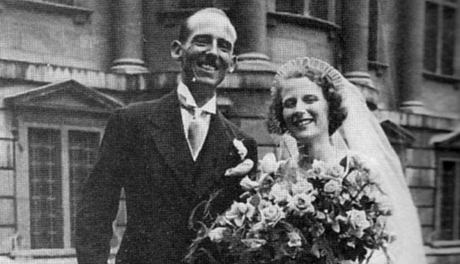 Wedding Bells: Mallam and Marie, 1934.