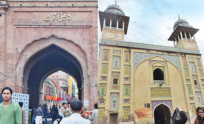 The tour embarks outside the Lawrence Gardens and takes history enthusiasts through landmarks like the Delhi Gate, the Wazir Khan Mosque and the historical Walled City (below).