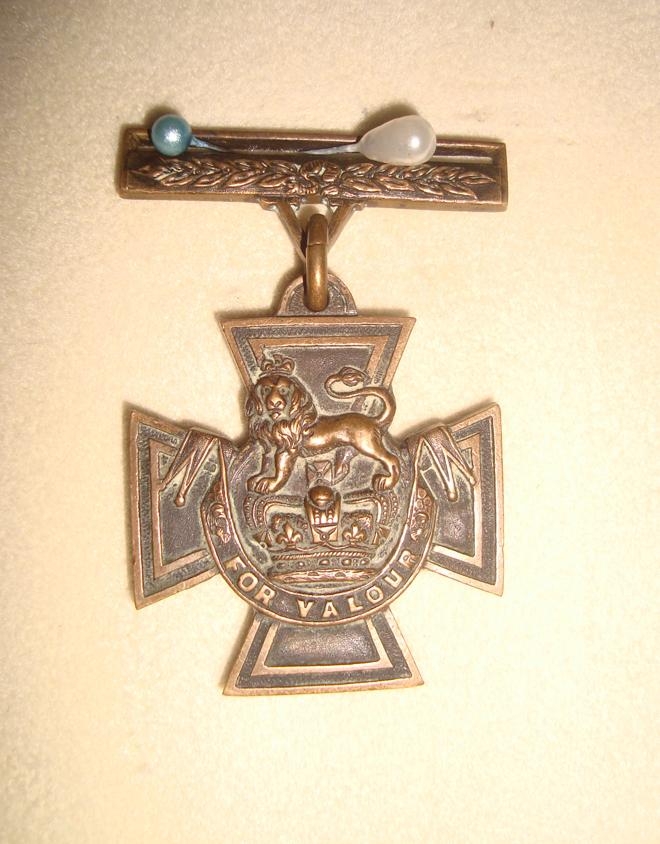 Victoria Cross awarded to Sepoy Khudadad of Dabb