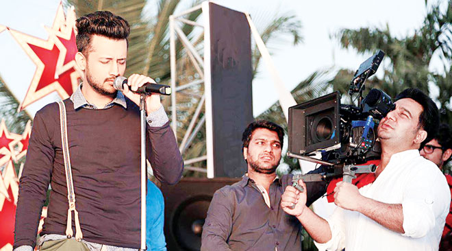 Atif may not be not be as visible now as he was before but whenever he is, he hits the mark and leaves fans enthralled.