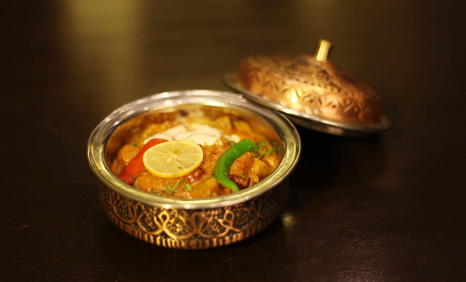 No food is complete without a special dose of chilman biryani, cooked with dry fruits, and pastry crust in an oven. This signature dish, with its flame-crisped outer crust, has a perfect taste and is decidedly a 'game changer.'