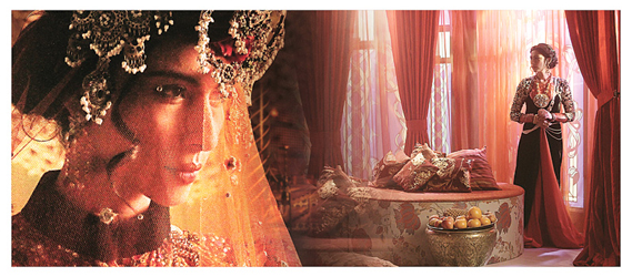 There is FarrukhZaad (played byMeesha Shafi whoreturns to television after over half a decade), the Nawab's possessive first wife, femme fatale and mother to his only son. A symbol of beauty, seduction and glamour, her constant power play against Sarwat forms the crux of Mor Mahal.