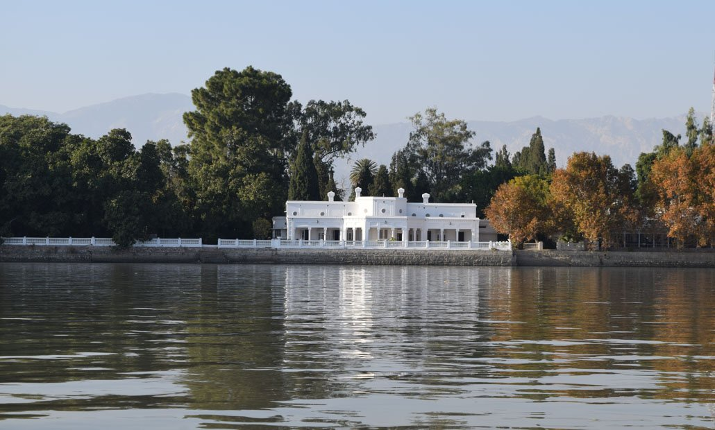 Bohr Bungalow on the banks of Indus.