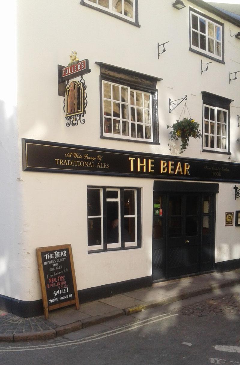 The pub from thirteenth century.