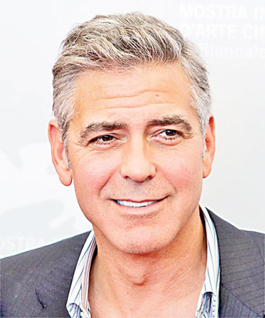 Hollywood heart-throb George Clooney has sported salt and pepper hair for decades now while still topping every sexiest man alive list.