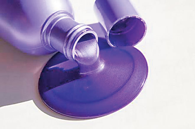 Specially designed purple or blue shampoo will increase the vibrancy of your hair colour, making it retain it's shine and health.