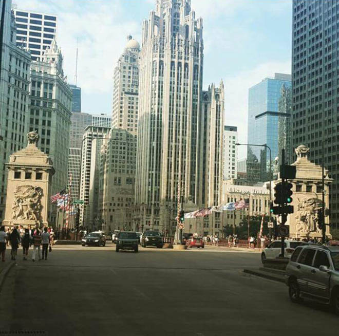 The Magnificent Mile. -- Photo by the author
