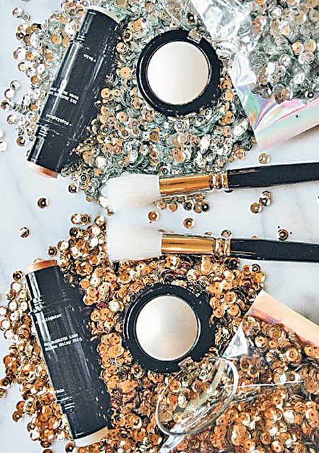 Pat Mcgrath's Skin Fetish highlighters come in a luxe, sequined packing that speak of the product's couture pedigree.