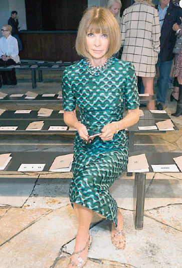 Anna Wintour, doyenne of global fashion, has sported the same platinum bob for decades. She's been wearing her hair in the same cut for so long that the cut itself is now referred to as Anna's Bob.