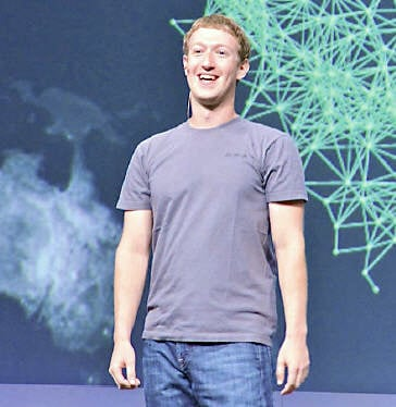 The founder of Facebook, Mark Zuckerberg is mostly seen sporting a grey t-shirt which is often jokingly referred to as his uniform.