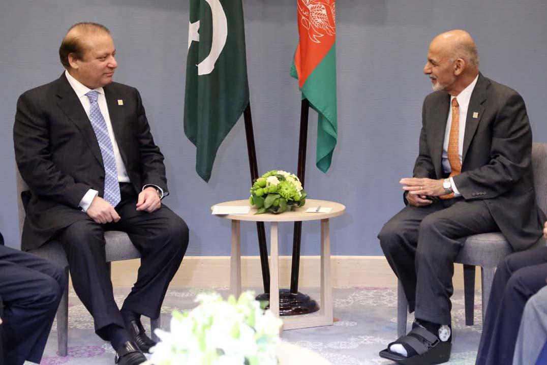 Ashraf Ghani acknowledged the presence of Maulana Fazlullah in Afghanistan.