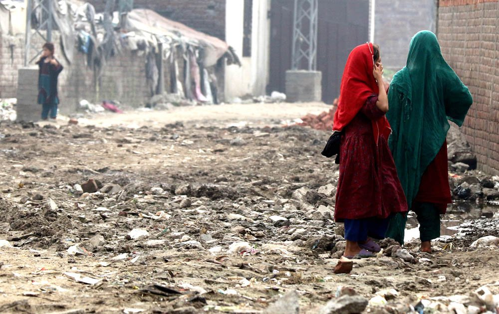 A large population of Afghans is said to reside in the katchi abadis and various low-laying areas. Data collected by the Bureau of Statistics puts it down to 0.5 million. The number is supposed to go up if the census is updated.