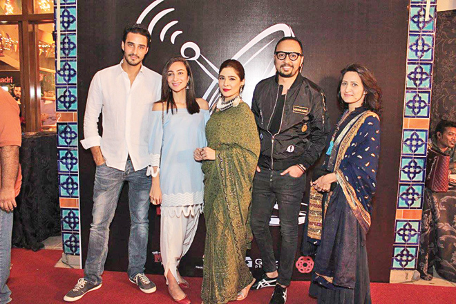 The Braadri Broadcast launch, held in Karachi at the Arts Council recently, was attended by several entertainment industry insiders such as HSY, Ayesha Omar, Sikandar Rizvi, Sohail Javed, Faris Shafi, Anoushey Ashraf, Nomi Ansari and Aamina Sheikh.