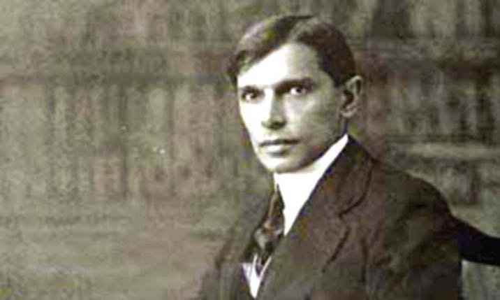 Jinnah, the young barrister.