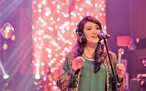 Zeb Bangash had a great last year and made an impression on music listeners everywhere with her stint on Coke Studio 9.