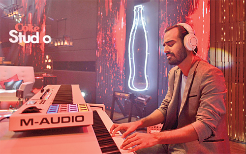 Jaffer Zaidi, known for his music group Kaavish, was mighty impressive in the role of music director during Coke Studio 9.