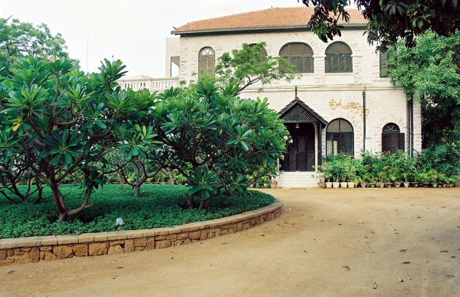 Habib Fida Ali's residence.