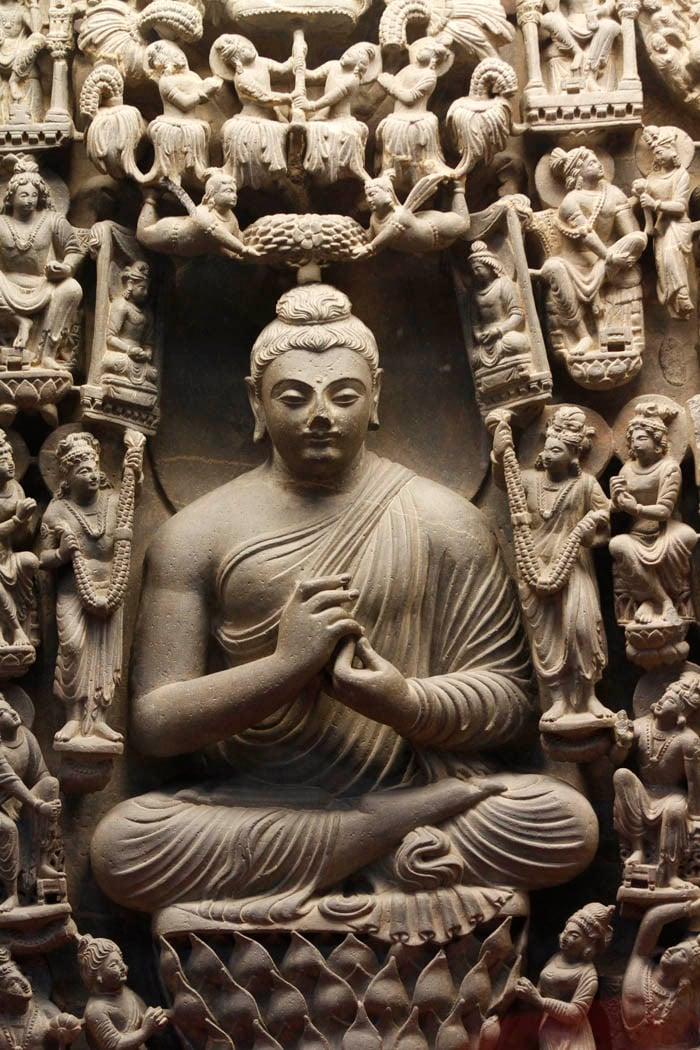 The fasting Buddha.