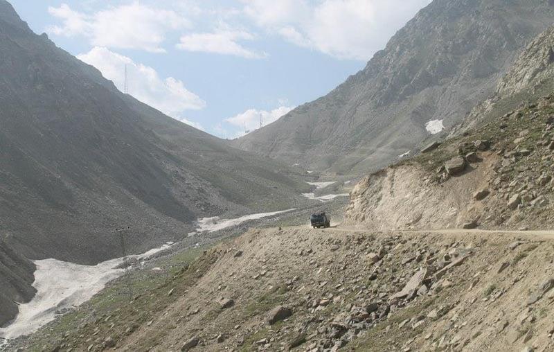 Lowari pass, mid-summer.
