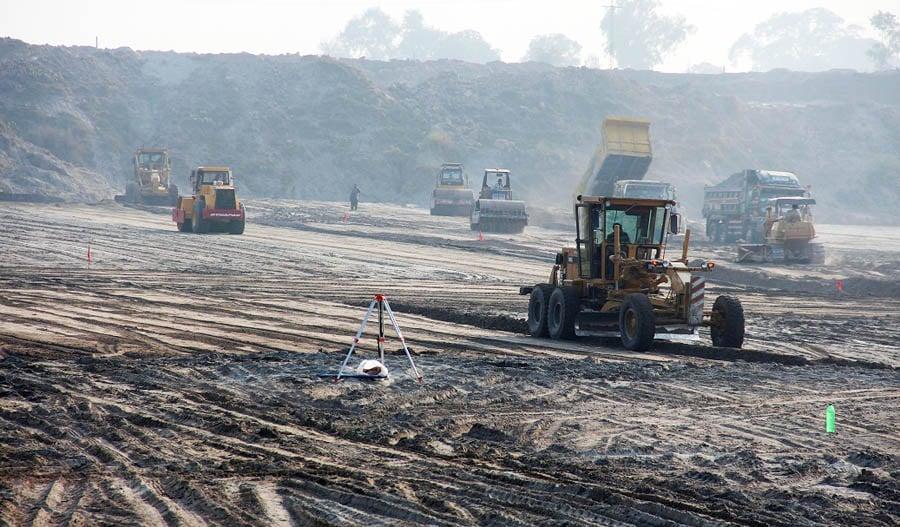 A file photo of the sanitary landfill site at Lakhodair. -- Photo courtesy: LWMC