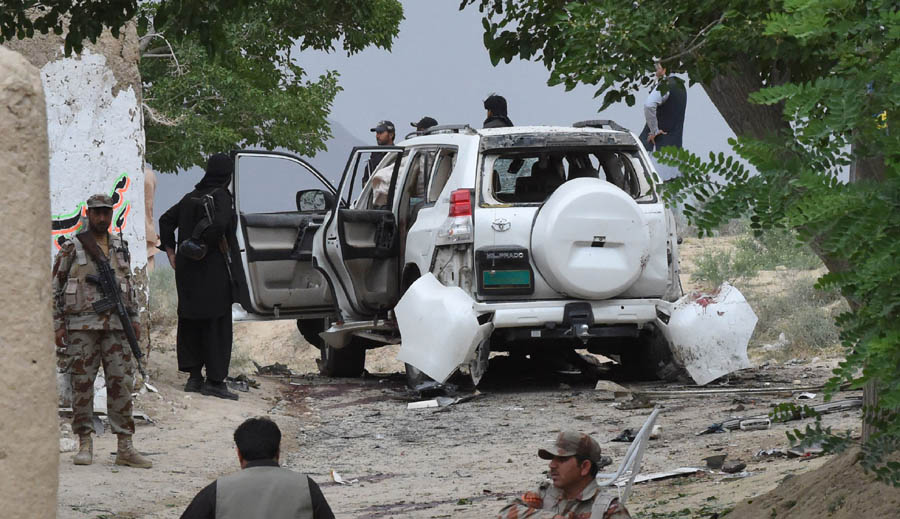 The attack last week on goverment convoy in Balochistan that killed 20.