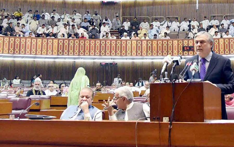Finance Minister Ishaq Dar.