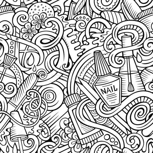 7548757_stock-vector-cartoon-doodles-manicure-seamless-pattern