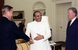 Jimmy Carter and General Zia ul Haq
