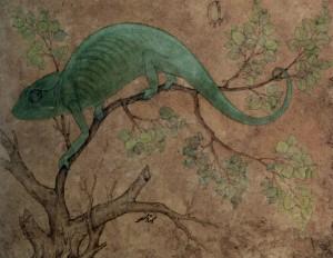Mansur, Chameleon circa 1612.
