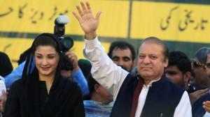 Former prime minister Nawaz Sharif and former president Asif Ali Zardari in the dock for corruption.