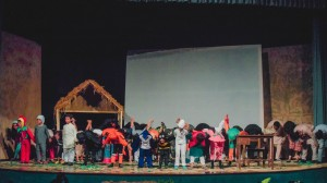 The young cast of characters takes a bow.