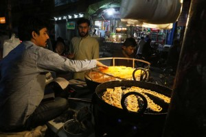 For many customers who visit the rustic and lively dhaba as a 'partial' solution for a missed meal, it's an eagerly anticipated ritual repeated on every subsequent visit.