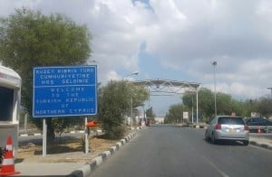 Gateway to North Cyprus.