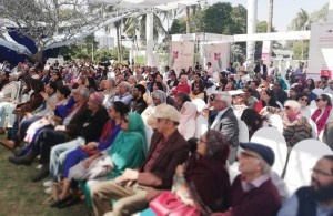 Karachi welcomes spring with literature festivals. -- Photos by the author