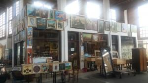 The colours of imagination in a Nicosian flea bazaar.