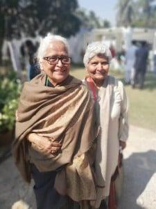 Zehra Nigah and Arfa Syeda.
