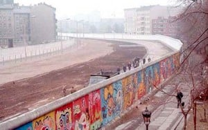 Berlin Wall as it stands now.
