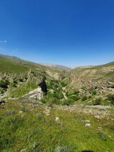 Kopet Dag mountains: Ashgabat