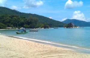 Public and private: Batu Ferringhi beach