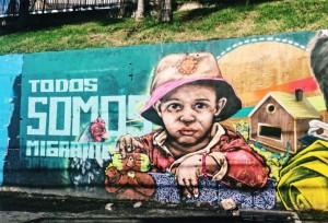 Street art by Venezuelan artists.