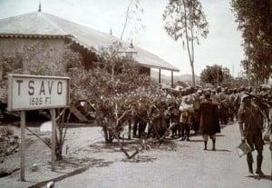 Tsavo, East Africa.