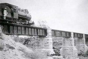 Tsavo bridge in 1899
