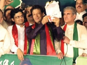 In the dharna staged by the PTI in 2014, PM Imran Khan called for civil disobedience by burning utility bills.